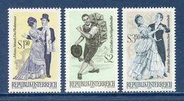 Autriche - YT N° 1167 à 1169 - Neuf Sans Charnière - 1970 - 1945-.... 2. Republik