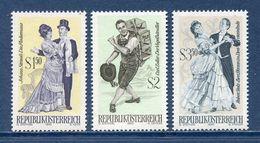 Autriche - YT N° 1167 à 1169 - Neuf Sans Charnière - 1970 - 1945-.... 2nd Republic