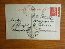 1932  LAIMJALA TO KURESSAARE  , OLD POSTAL STATIONERY   POSTCARD     , O - Estonie