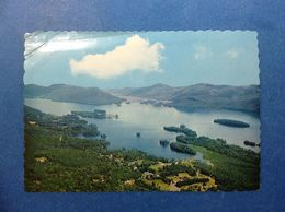 Cartolina Post Card Formato Grande Non Viaggiata Stati Uniti New York Lake George Lago Veduta Aerea - Lake George
