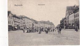 ALLEMAGNE 1903 CARTE POSTALE DE BAYREUTH  MARKTPLATZ - Bayreuth