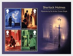 Great BritaIn  2020  Sherlock Holmes Dectective     Blok-m/s      Postfris/mnh/neuf - Unused Stamps