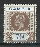 Gambia SG 95, Mi 75 * MH - Gambia (...-1964)