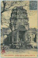 BK0318 - POSTAL HISTORY - INDIA Stamp On POSTCARD From SAIGON Cochincine Vietnam To RUSSIA 1902 - 1902-11 King Edward VII