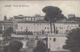 FRASCATI-ROMA-PIAZZA DEL MUNICIPIO-CARTOLINA NON VIAGGIATA -ANNO 1915-1925 - Autres