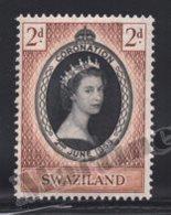 Swaziland 1953 Yvert 54, Royalty. Queen Elizabeth II Coronation - MNH - Swaziland (1968-...)