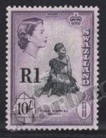 Swaziland 1961 Yvert 77a, Royalty. Queen Elizabeth. Swazi Woman - MNH - Swaziland (1968-...)