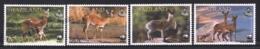 Swaziland 2001 Yvert 696-99, Fauna. Antelopes. Oribi & Klipspringer - MNH - Swaziland (1968-...)