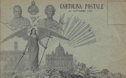 ROMA-COMMEMORATIVA XX SETTEMBRE 1895-PRECURSORE -CARTOLINA NON VIAGGIATA - Autres
