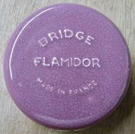 CENDRIER BRIDGE FLAMIDOR MADE IN FRANCE ( LIE DE VIN ) - Sonstige
