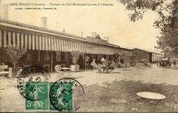 PEU COMMUNE ! PESSAC 1913 CAFE RESTAURANTS LARRUE A L'ALOUETTE THEMES COMMERCE - Non Classés
