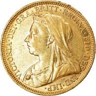 Monnaie, Australie, Victoria, Sovereign, 1894, Melbourne, SUP, Or, KM:13 - Victoria