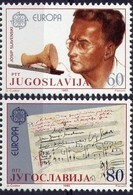 Joegoslavie Yougoslavie Cept 1988 Yvertnr. 1983-84 *** MNH Yvertcôte 2.75 Euro - Europa-CEPT
