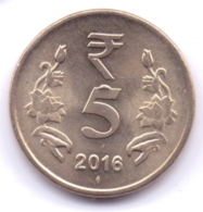INDIA 2016: 5 Rupees, KM 399 - India