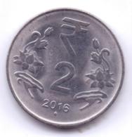 INDIA 2016: 2 Rupees, KM 395 - India