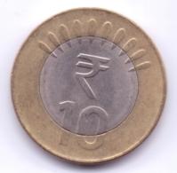 INDIA 2012: 10 Rupees, KM 400 - India