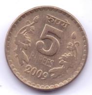 INDIA 2009: 5 Rupees, KM 373 - India