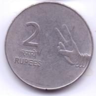 INDIA 2008: 2 Rupees, KM 327 - India