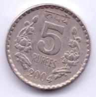 INDIA 2004: 5 Rupees, KM 154 - India