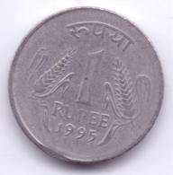 INDIA 1995: 1 Rupee, KM 92 - India