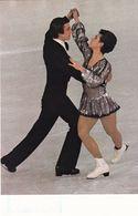 Germany 1980 Card; Winter Olympic Games Innsbruck 1796; Ludmila Pahkomoga & Alexander Groshkow; Ice Dance Champions - Inverno1976: Innsbruck
