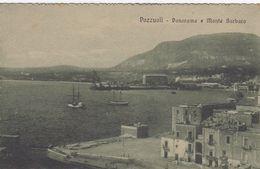 POZZUOLI-NAPOLI-PANORAMA E MONTE BARBARO-CARTOLINA NON VIAGGIATA -ANNO 1920-1925 - Pozzuoli