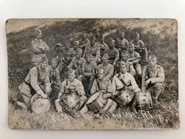 Foto Ak Cp Soldats Francais 151 Infanterie Regiment Musiciens Music - Regimente