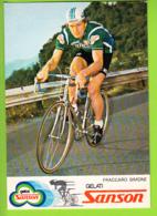 Simone FRACCARO . 2 Scans. Cyclisme. Sanson - Cycling