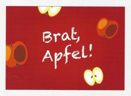 Xx11xx ★★ Werbepostkarte - Brat, Apfel! Lehrer/in In Mecklenburg Vorpommern 2020 - Pubblicitari