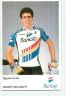Miguel INDURAIN . 2 Scans. Cyclisme. Banesto 1991 - Cycling