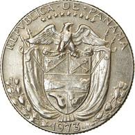 Monnaie, Panama,1/4 Balboa, 1973, TTB, KM 11.2a - Panama