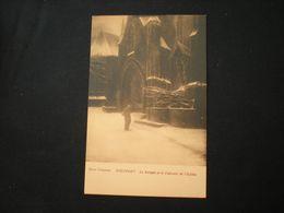 NIEUPORT - LE PORTAIL ET LE CALVAIRE DE L'EGLISE - OMER COPPENS - Nieuwpoort