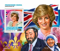 Togo 2020 Princess Diana. Mother Teresa. (0203b) OFFICIAL ISSUE - Mother Teresa