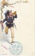 ITALIA - MILITARE - Leggi Testo, Litho Animata,1900 Circa - 2020-D-10 - Regimente