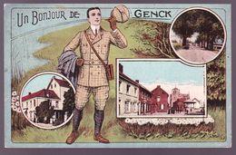 CPA - Belgique / België - Un Bonjour De Genck - 1920 - Genk