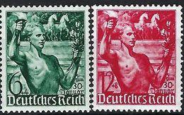 ALLEMAGNE 1938:  Les Y&T 603-604 Neufs* - Ungebraucht