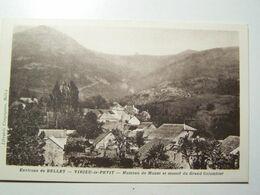 D01D   Environ De BELLEY  VIRIEU Le PETIT Hameau De Munet Et Massif Du Grand Colombier - Belley