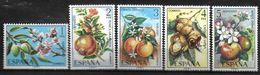 ESPAGNE  N°  1898/02   * *  Fruits Amandier Grenadier Oranger Chataignier Pommier - Frutta