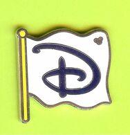 Pin's Disney Drapeau D - 10SS25 - Disney