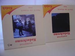 LOT Diapositive Film Positif Photo Diapo Slide CITROEN 2CV 403 Automobile Car - Diapositive