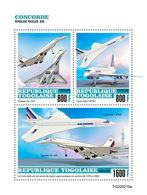 Togo 2020 Concorde. (0210a) OFFICIAL ISSUE - Concorde