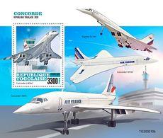 Togo 2020 Concorde. (0210b) OFFICIAL ISSUE - Concorde