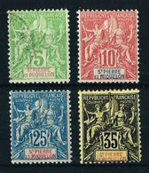 St.Pedro Y Miquelón Nº 72/... Cat.40€ - Unused Stamps