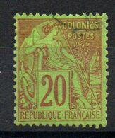 YT N° 52 - Oblit. Bleue Légère - Alphée Dubois