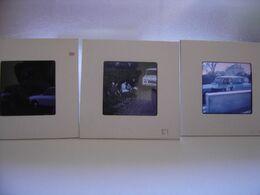 LOT Diapositive Film Positif Photo Diapo Slide CITROEN 3CV Automobile Car - Diapositive