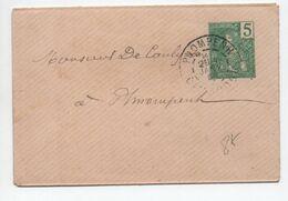 1908 - ENVELOPPE ENTIER POSTAL N°439 Avec OBLITERATION DE COMPLAISANCE De PNOMPENH (CAMBODGE) - Briefe U. Dokumente