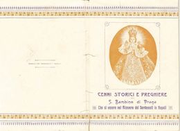 Libro Bambino Di Praga Storia E Preghiera 1913 Tip. Sordomuti Napoli (803) - Boeken, Tijdschriften, Stripverhalen