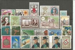 1966 - SUPERBE LOT De 47 Timbres Et 3 Blocs - Tous ** (MNH) - Année Incomplète - IMPECCABLES - Belgium