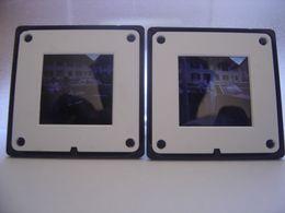 LOT 2 Diapositive Film Positif Photo Diapo Slide AUTOMOBILE A Determiner CAR - Diapositive
