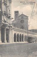 Genova (Italie) - Via XX Settembre E Chiesa Di S. Stefano - Genova (Genoa)
